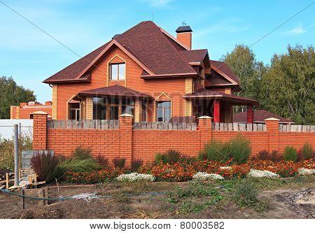 Unfinished cottage.