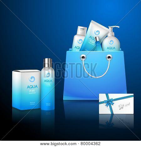 Cosmetics And Bag