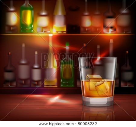 Bar Counter Background