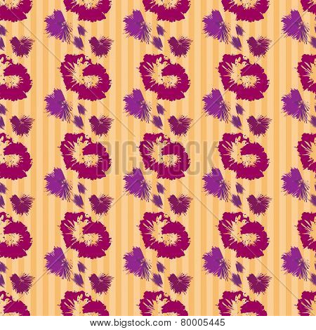 Vintage Floral Seamless Pattern. Texture With Flowers.