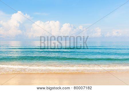 Beatiful Karon Beach At Phuket, Thailand