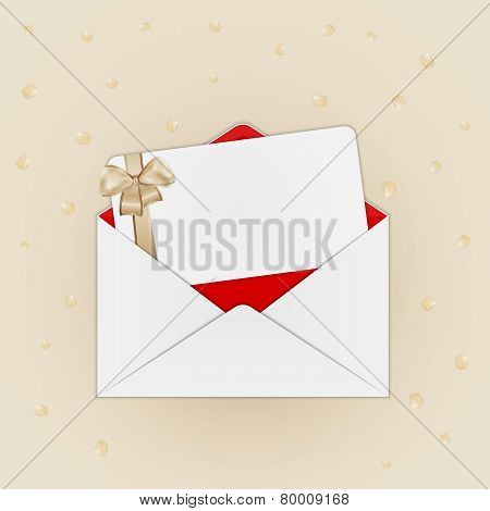 Invitation Card With Envelope