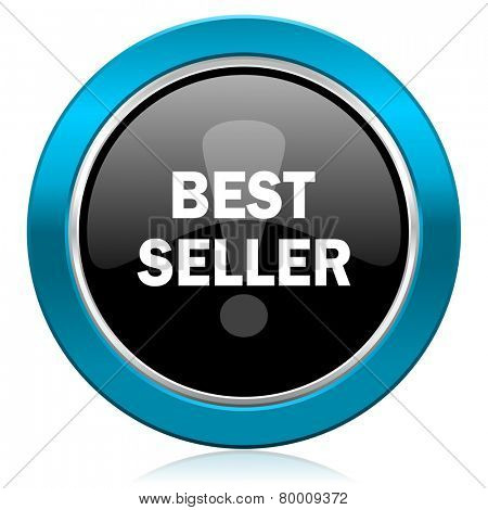 best seller glossy icon