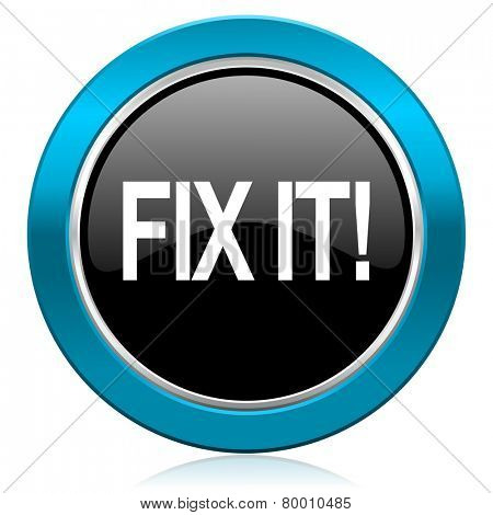 fix it glossy icon