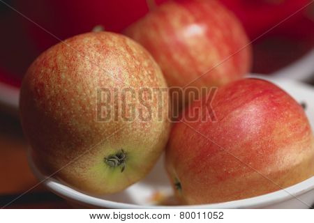 Red Apples Macro
