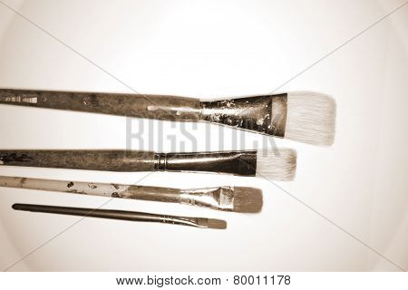 Sepia Artist Brushes