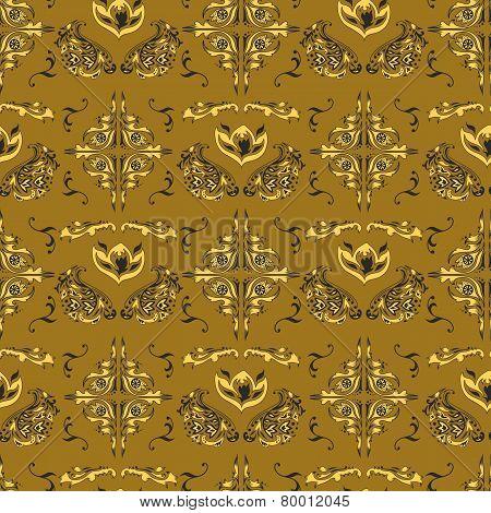 Arabic damask pattern