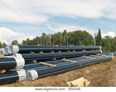 Stock of pipes