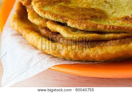 The Delicious Homemade Potato Pancakes