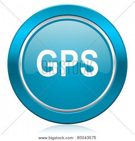 gps blue icon