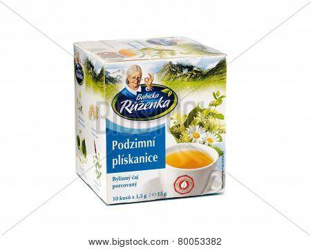Pack Of Babicka Ruzenka Herbal Tea
