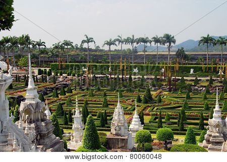 Beautiful Tropical Park in Thailand Nung Nooch