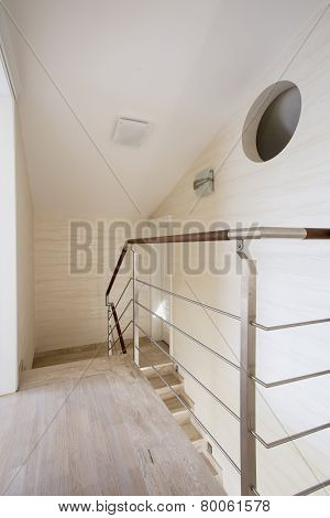 Staircase In A Modern Apartment
