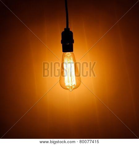 bulb lamp with warm light
