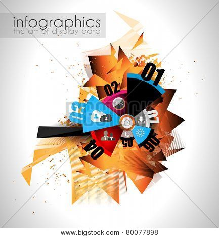 Abstract modern poligonal background for brochure and covers, made with geometrical shapes to use for posters, book cover, flyer and advertisement material