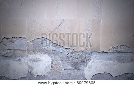 Demaged Wall Background Texture
