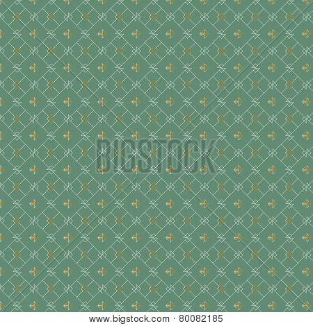 Diamond geometric pattern seamless vintage background