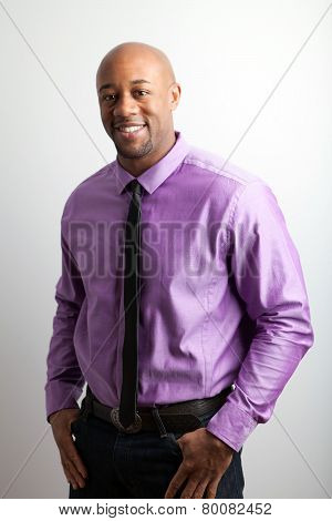 Smiling Business Man