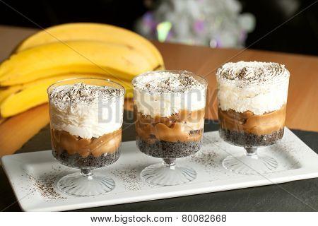 Banana Caramel Parfait Desserts