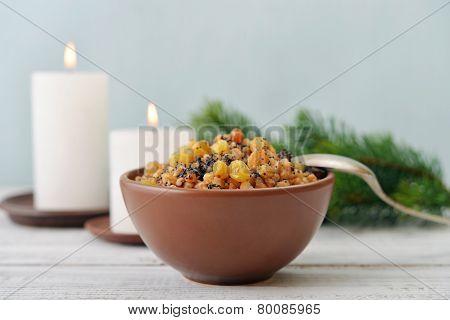 Christmas Slavic Dish Kutia