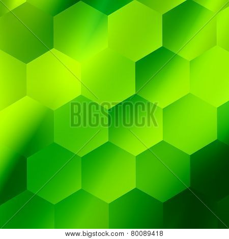 Lime green abstract background design. Modern minimal style illustration. Glowing light effect.