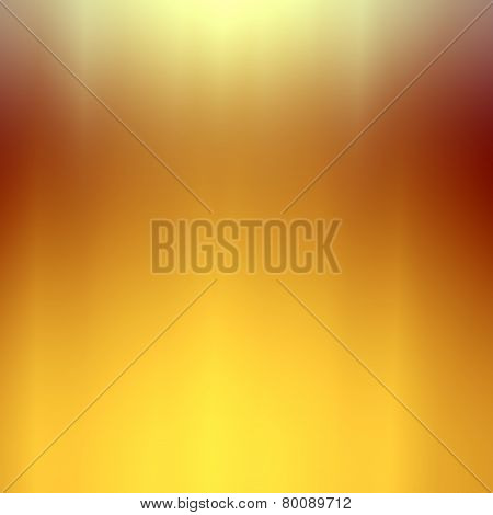 Soft abstract background. Golden white shiny backdrop. Minimalistic modern digital tablet.