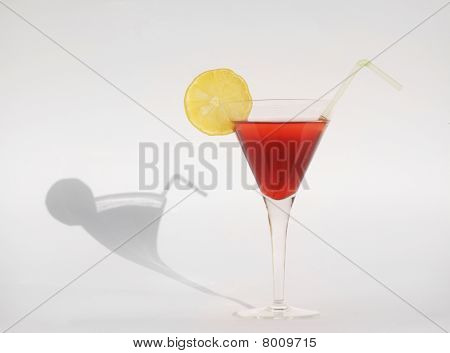 Martini with shadow