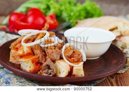 Iskender Kebab - Traditional Turkish Food