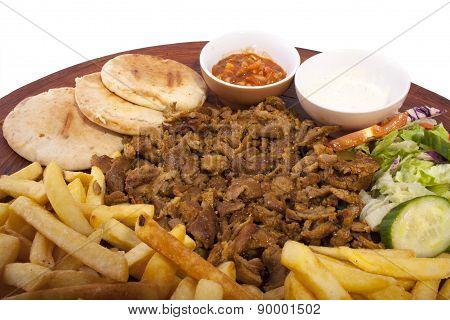 Shawarma Close-up