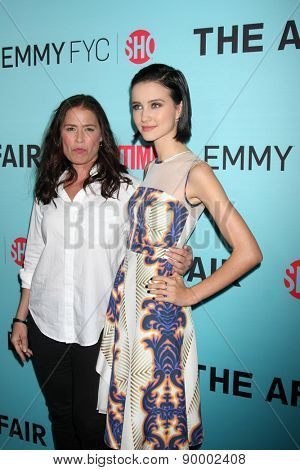 "LOS ANGELES - MAY 5:  Maura Tierney, Julia Goldani Telles at the Showtime's ""The Affair"" Screening Event And Panel Discussion at the Samuel Goldwyn Theater on May 5, 2015 in Beverly Hills, CA"