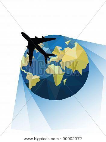 vector world travel