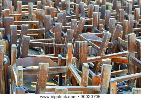 Pile Of Chairs