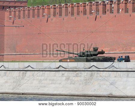 Latest Armata Tank