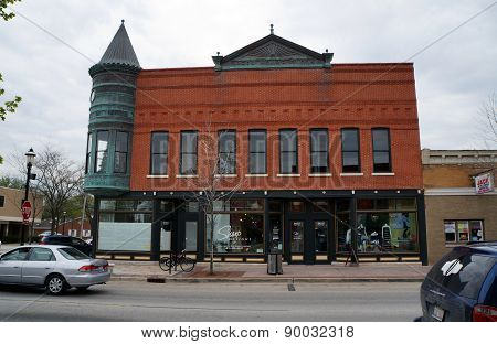 Opera House Block Building, Plainfield, Illinois