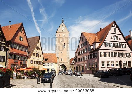 Romantic Dinkelsbühl, City Of Late Middleages