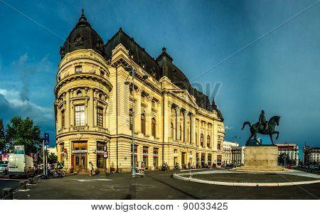 Bucharest -- University Library