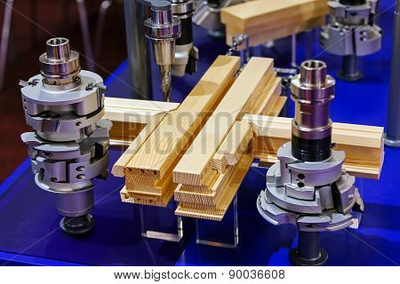 Detail Of Woodworking Machine