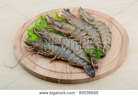 Raw Tiger Shrimps