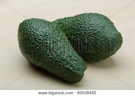 Fresh Ripe Green Avocado