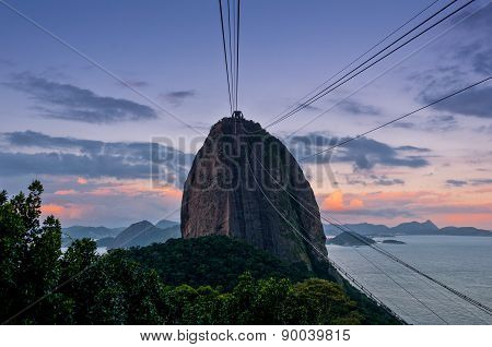 Sugarloaf Mountain in the Evening