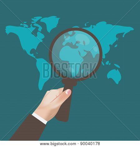 SEO, Optimization, Web, Analytics, Concept, Vector, Illustration