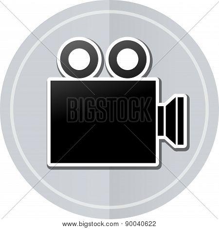 Cinema Sticker Icon