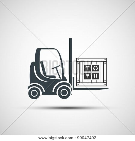 Icon Forklifts With Compartment.