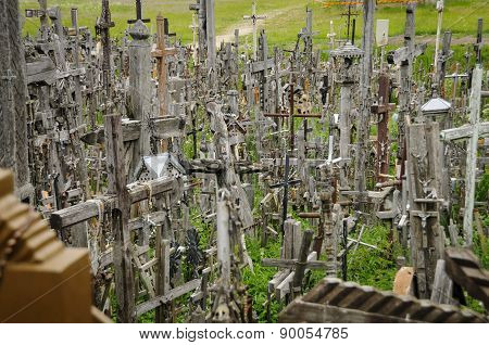 Hill Of Crosses, Lithuania, Europe