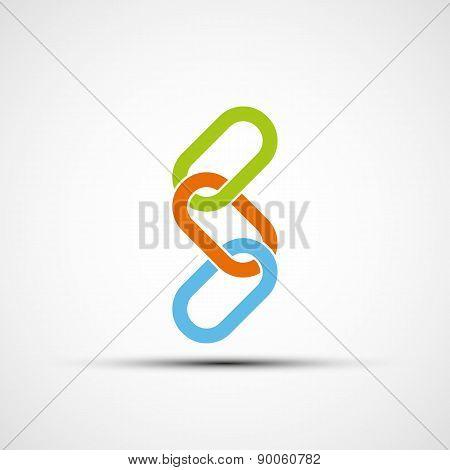 Icon Colored Chain.