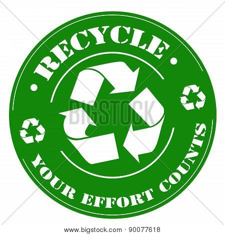 Recycle-stamp