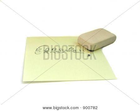 Eraser And