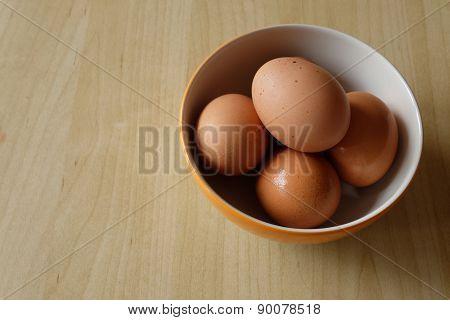 Five Eggs in Blow