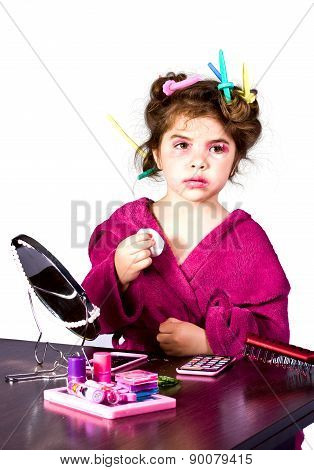Make Up little Girl