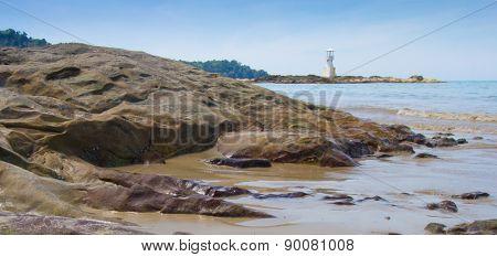 Lighthouse on the west beach
